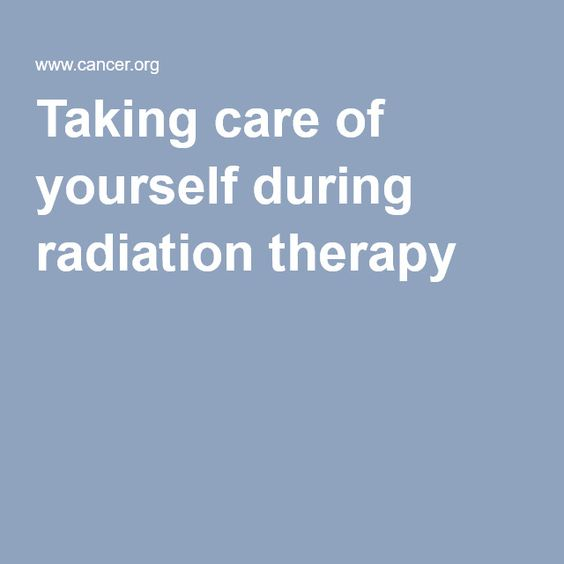 Pdf charts [Chemo & radiation] to track side effects and medications take. so you can discuss options. Taking care of yourself during radiation therapy