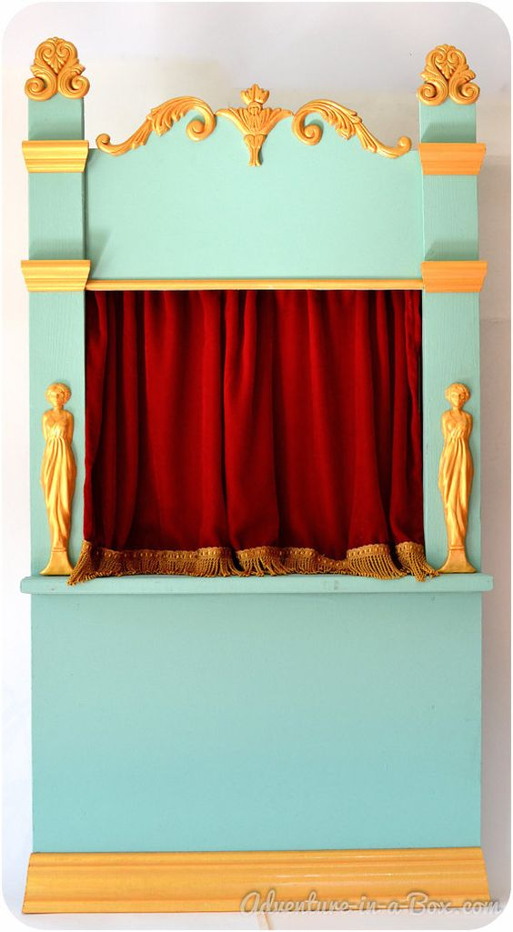 Puppet Theatre Shadow Theatre Of Vintage Inspiration