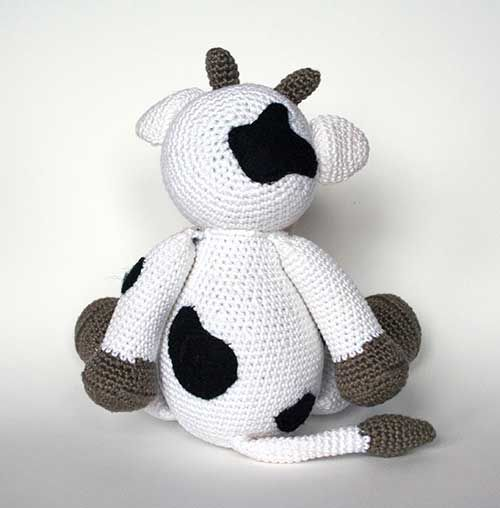 Amigurumi Crochet Pattern Cow : Klaartje the cow amigurumi pattern by Christel Krukkert ...