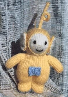 Teletubbies Knitting Pattern : Knitted Teletubbbies Toys Baby Toddler Teletubbies Crochet and knitted Toys...