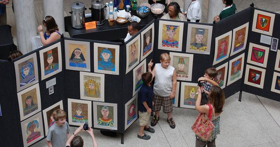 Association of Independent Maryland and D.C. Schools (AIMS) Student Art Exhibition