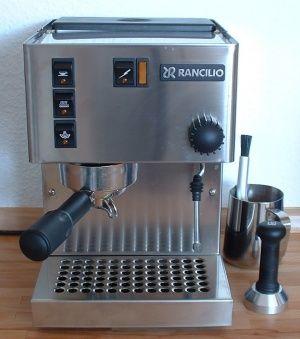 Rancilio Miss Silvia – KaffeeWiki - die Wissensdatenbank rund um ... | {Espressomaschinen 74}