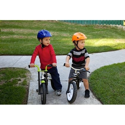Two buddies on their Joovy Bicycoos!!!