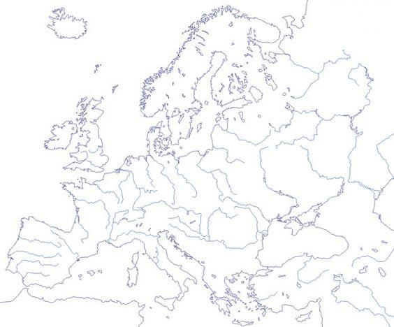 La hidrografa europea cuenta en la vertiente atlntica con ros
