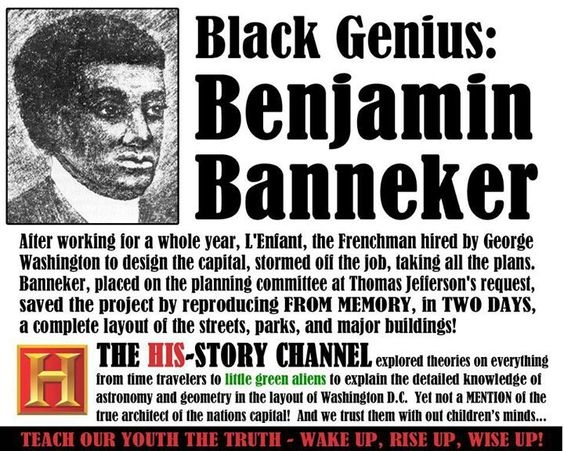 A Brief History of the Amazing Accomplishments of Benjamin Banneker