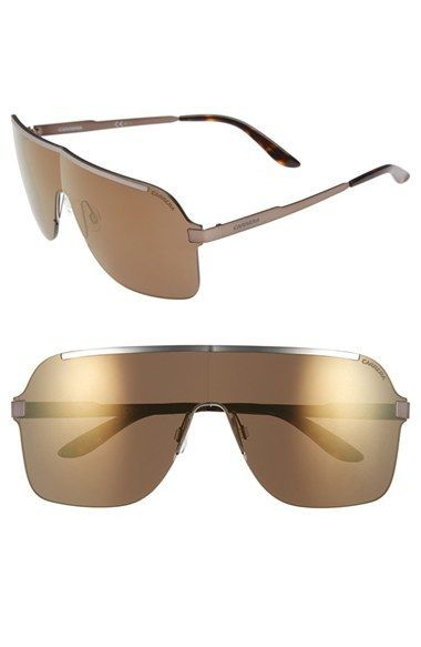 Carrera Eyewear 145mm Shield Sunglasses available at #Nordstrom