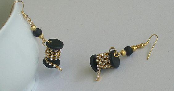 Spool earrings | Flickr - Photo Sharing!