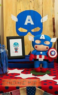 Festa Capitão América