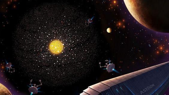Civilizações alienígenas Superadvanced provavelmente não vivem em nossa vizinhança cósmica