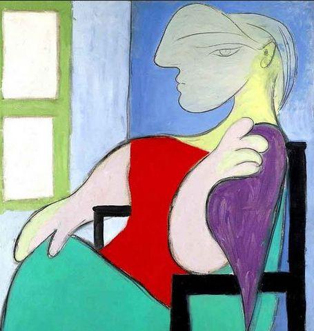 Mujer Sentada Juno a Una Ventana Marie Therese Walter