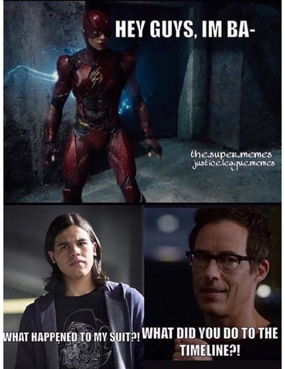 The Flash 20 Dank Dceu Vs Arrowverse Memes Em 2020 Com Imagens