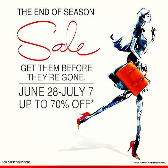 SM Megamall End of Season Sale June - July 2013