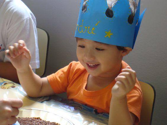 Aniversário do Dedé na escolinha