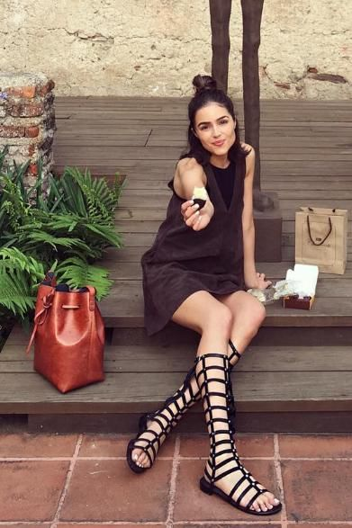 Essential Boho Fashion: Gladiator Sandals