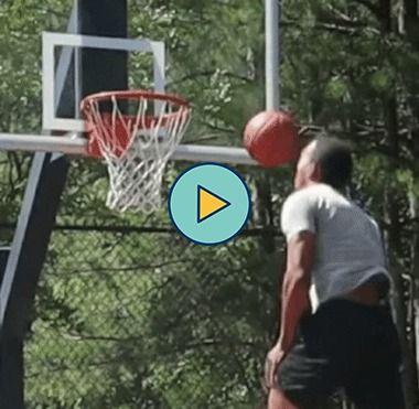 Esse cara é um ótimo jogador de basquete