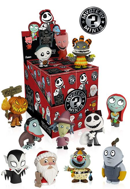Funko to Unwrap Mystery Mini's: The Nightmare Before Christmas figures!