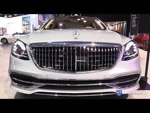 2019 Mercedes Maybach S Class S650 Sedan Exterior Interior Walkaround 2018 New York Auto Show Youtube Maybach Mercedes Maybach Mercedes