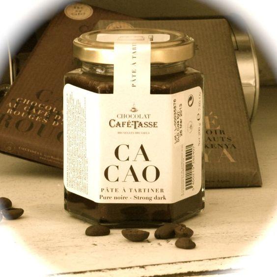 Chocolate spread from Belgium - a heavenly mouthful - find den på www.vintage-kompagniet.dk