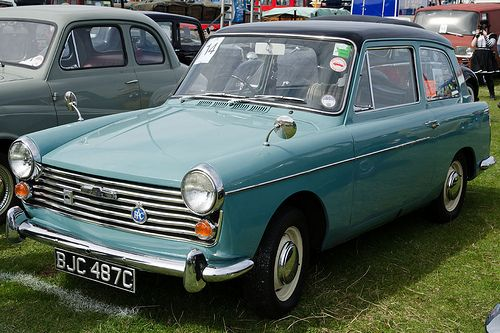 #Austin A40 Farina (1965) (used to go like little rockets ;-)  .....fred67.com/library .....