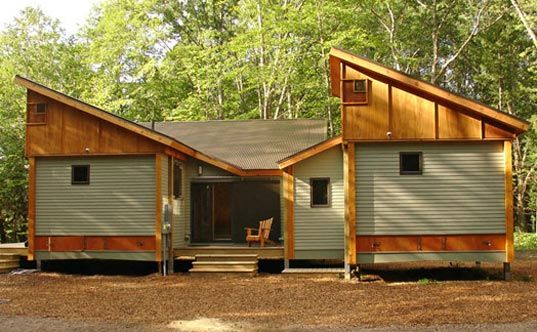 Prefab friday cottage in a day cottage in cottages and for Energy efficient kit homes