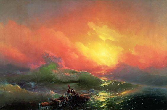 Ivan Aivasovsky – The Ninth Wave:
