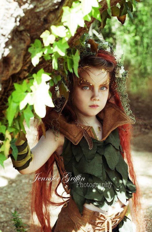Satz von 4 Waldland Moss-Haarspangen bestellen von LilyMairi