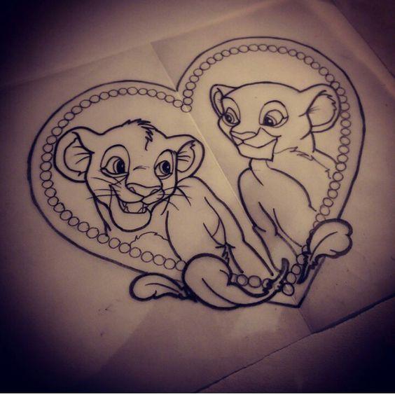 the lion king tattoo tattoo ideas pinterest tatouages de roi lion lion et roi. Black Bedroom Furniture Sets. Home Design Ideas