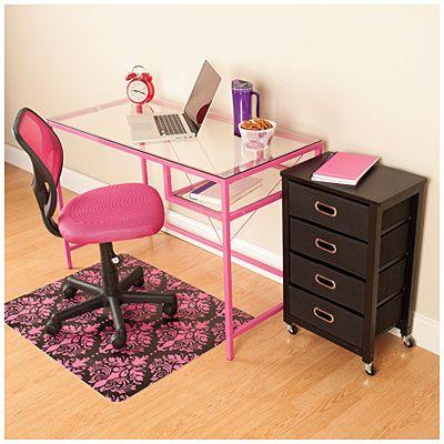 rose pink office furniture set at big lots big office desks