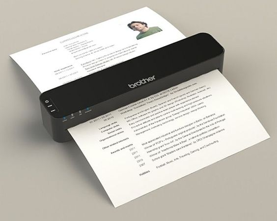 myBrother all in one device to scan, copy and print data anywhere, anytime