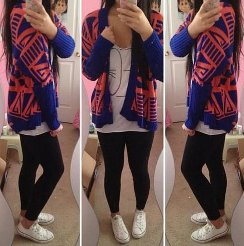 white converse and leggings | Leggings outfits | Pinterest ...