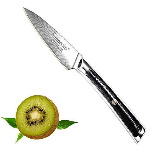 Sunnecko Couteau De Cuisine Professionnel 8 Pouces Couteau Japonais 73 Couche Acier Couteau De Chef De Damas Pour Viande Le Knife Pocket Knife Kitchen Knives
