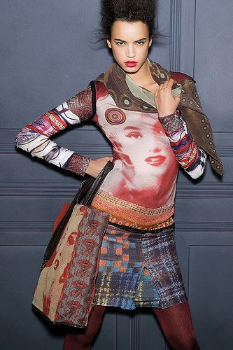 """""""Desigual by L""""; I like the top"""