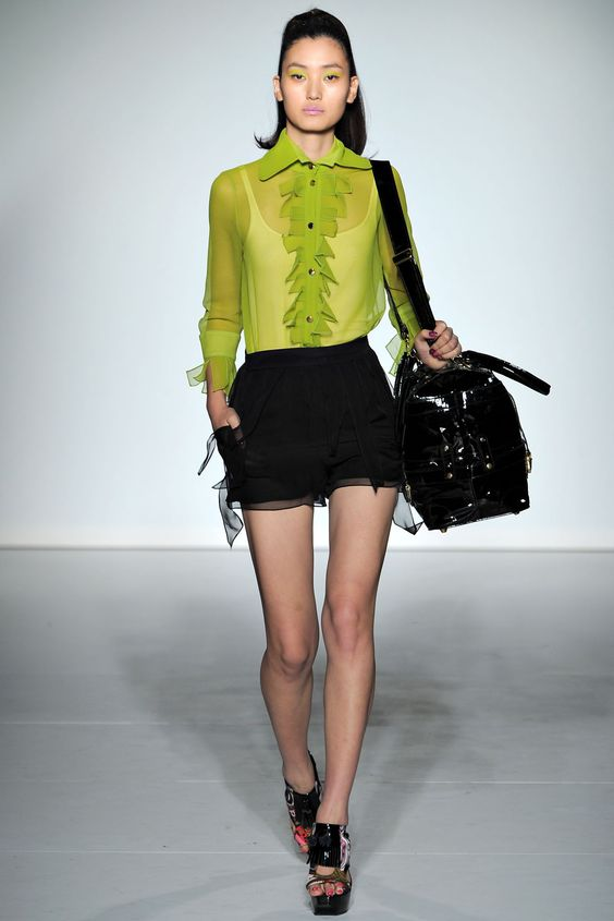 PPQ Spring 2013 Ready-to-Wear Collection Slideshow on Style.com