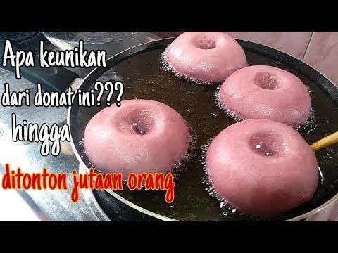 Resep Donat Ubi Ungu Super Empuk Menul Dan Anti Gagal Youtube Resep Ubi Kue Camilan