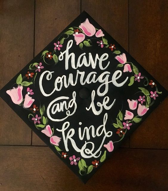Receiving my MBA on Saturday, here's my graduation cap! #disney #cinderella #graduategrind: