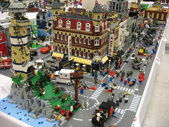 Construction l go jeux and id es on pinterest - Idee construction lego ...