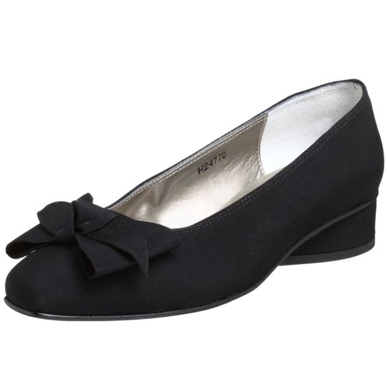 Dress Shoes for Women - black flat dress shoes from ros hommerson ...