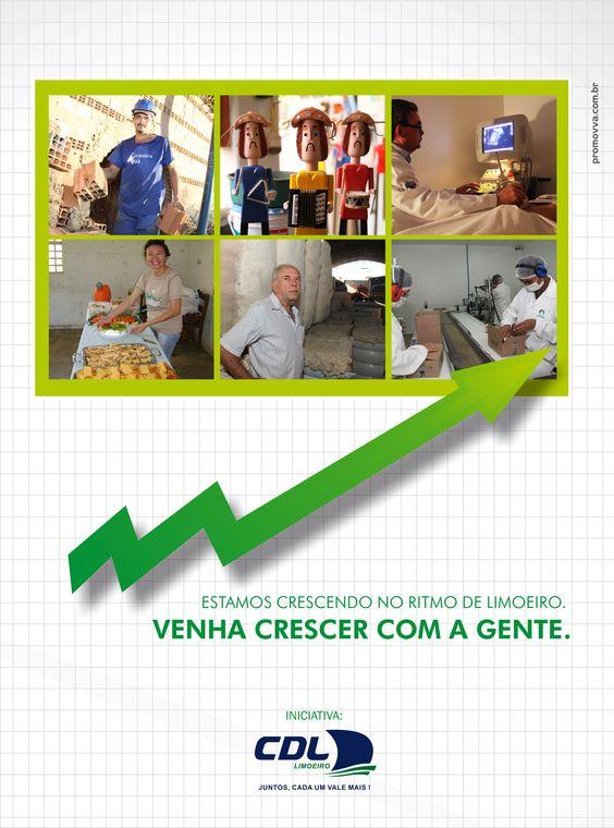 Cliente: CDL - Limoeiro | Veículo: Revista Movimentto | Peça: Institucional - 1 Página | Agência: Promovva Comunicação Estratégica.