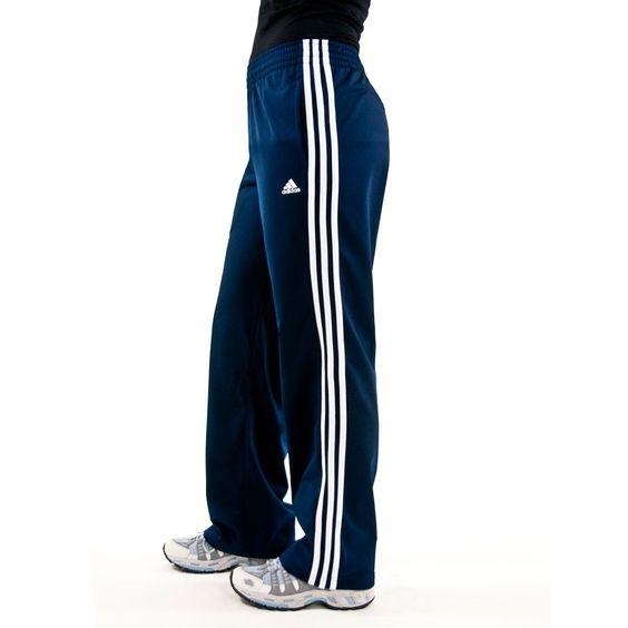 adidas 3 stripe pants. adidas women\u0027s 3-stripes pants - dark indigo | motivation pinterest 3 stripe
