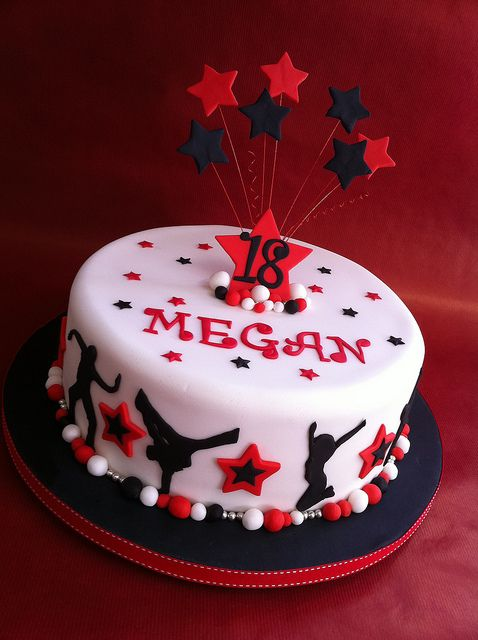 Megans dance cake by Sharon Woodhall, via Flickr