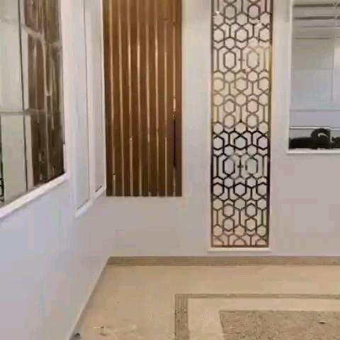 استيل للجدران فوم بديل الجبس تكسيات بديل الخشب ديكور مرايا Video Decor Home Living Room Front Room Decor Home Decor