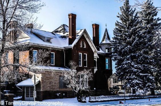 Old house in Cheyenne
