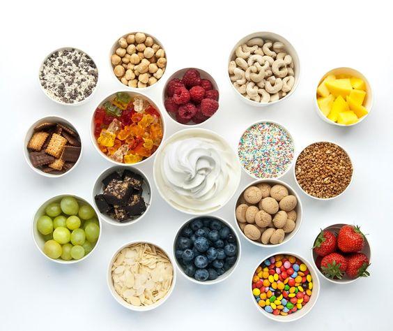 Ideen für Frozen Joghurt
