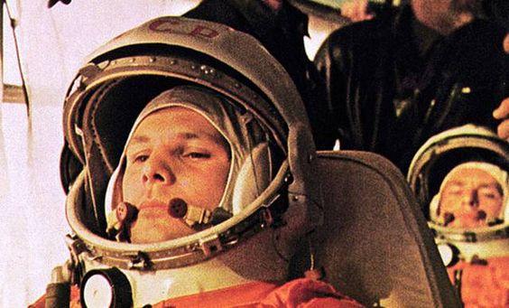 Yuri Gagarin, en una imagen de la NASA.