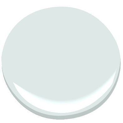 "Benjamin Moore's 2136-70 Whispering Spring ""This light blue is perfect for the color-shy.  I've used it on the ceiling, too.  Paired with ivory and white, it makes you feel like you're floating in the sky.""  Zoe Johns"