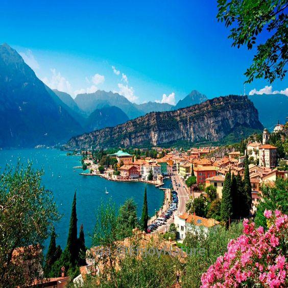 Garda Lake at Verona