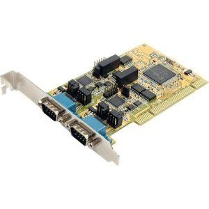 StarTech 2 Port RS232/422/485 PCI Serial Adapter w/ ESD. 2PORT PCI RS232 RS485 RS422 W/ ESD PROTECTION SERCRD. 2 x 9-pin DB-9 Male RS-232/422/485 Serial Universal PCI by StarTech. $172.33. Manufacturer: StarTechManufacturer Part Number: PCI2S232485I Brand Name: StarTechProduct Model: PCI2S232485I Product Name: 2 Port RS232/422/485 PCI Serial Adapter w/ ESD Marketing Information: Add RS232, RS485, and RS422 support to a PC with a single PCI add-on card The PCI2S232485I P...