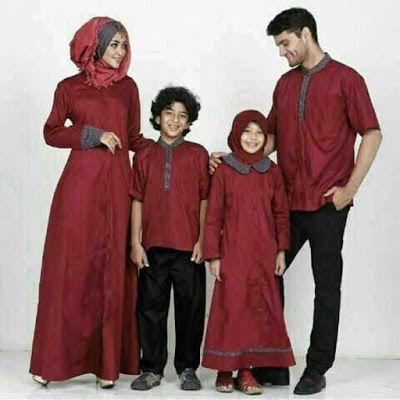 Model Baju Lebaran 2020 Keluarga