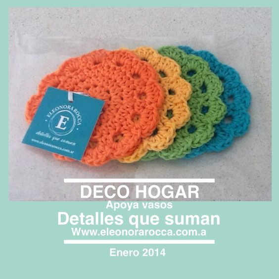 Hecho a mano, confeccionado en hilo de algodon                                            Www.eleonorarocca.com.ar                   Hola@eleonorarocca.com.ar