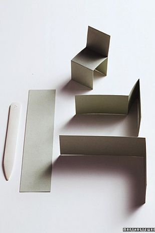 marque place en papier